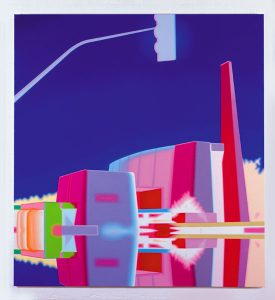 Anaheim, Darren Wardle, acrylic on canvas, 2004.